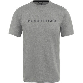 The North Face Train N Logo Hardloopshirt korte mouwen Heren grijs